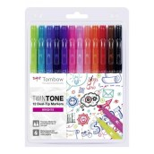 Tombow Twintone Markers Bright