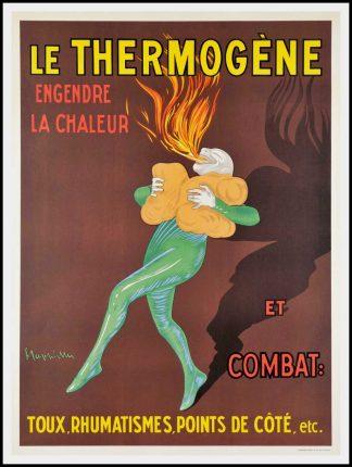 affiche ancienne le thermogene affiche ancienne publicitaire affiche ancienne cappiello