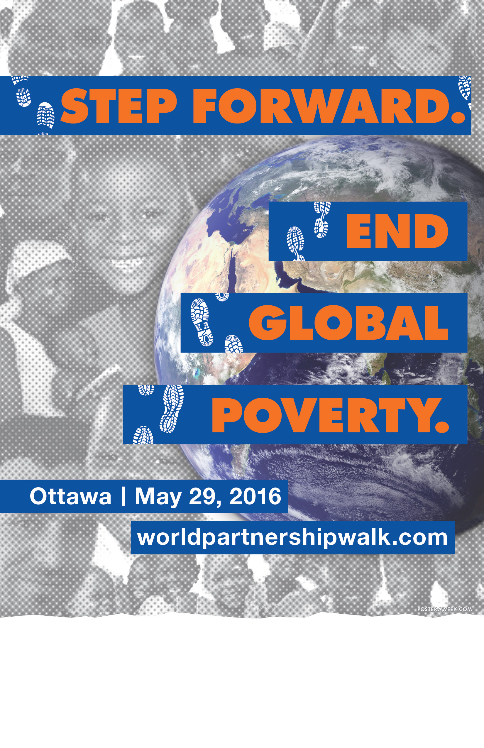 Poster a Week Free Posters Online - This Week: World Partnership Walk Event Poster