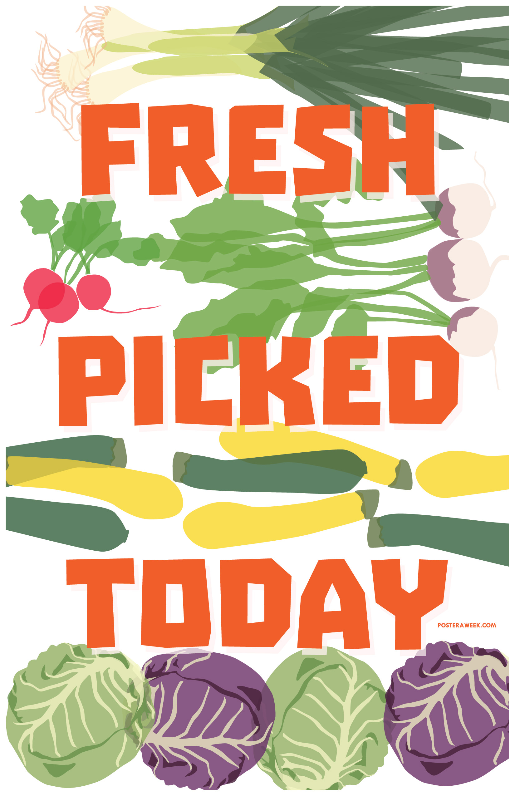 Poster a Week Free Posters Online - This Week: Food Moxie