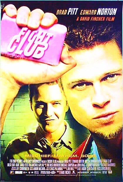 Image result for fight club film poster