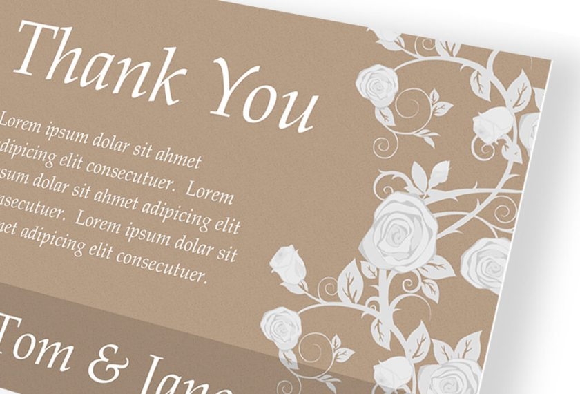 How We Make Thank You Cards