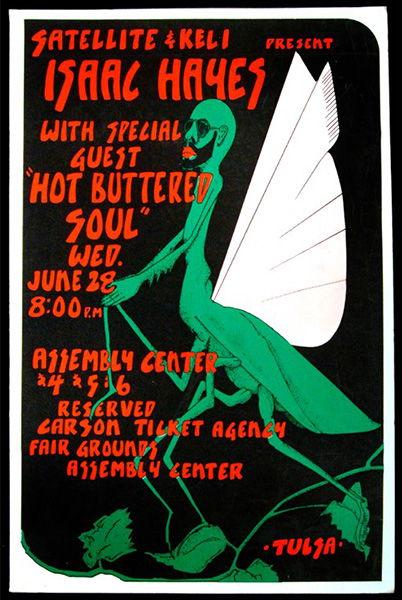 Concert Posters Tulsa Poster Project Archive Of Tulsa Area