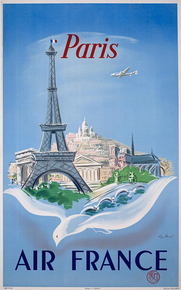 Vintage Poster Classics France Vintage Aviation Posters