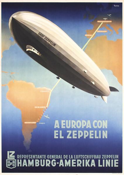 Ottomar Anton, Graf Zeppelin, 1935