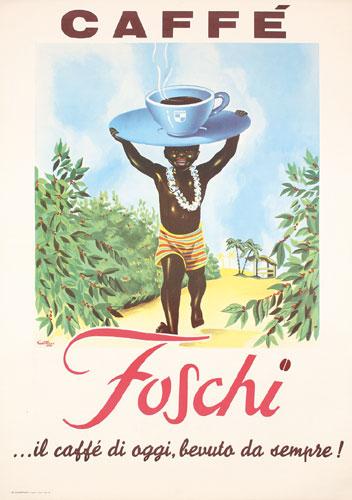 Caffe Foschi by Giann Rusa, 1960