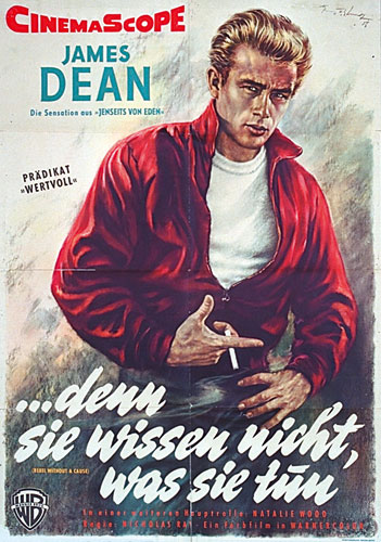 Rebel without a Cause, German 1-Sheet