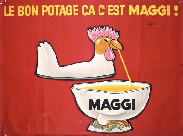 Maggi  by Raymond Savignac, 1962