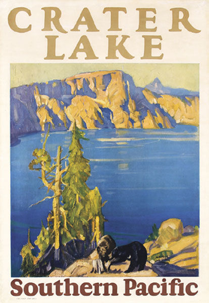Southern Pacific - Crater Lake, 1927