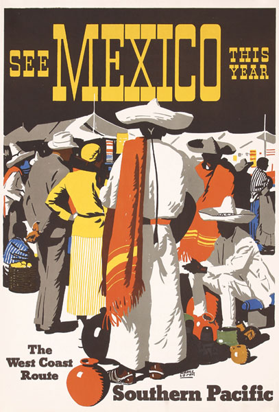 Southern Pacific - See Mexico, ca. 1936