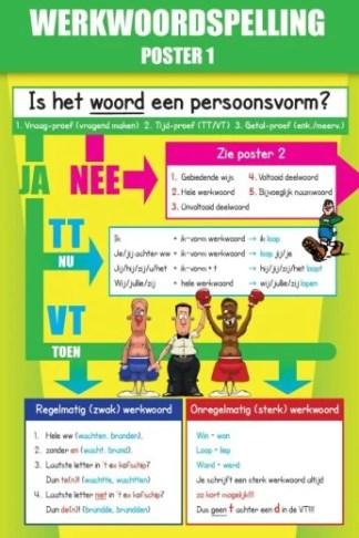 Poster 1 Werkwoordspelling Taal