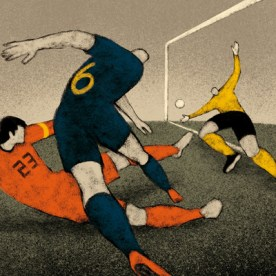 South Africa, 2010: Spain - Netherlands 1-0. Andres Iniesta gives Spain their first world title.