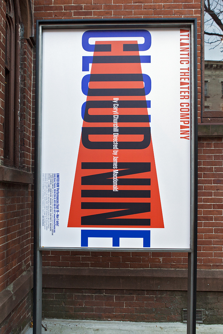 Paula Scher Atlantic Theater Company Posters Poster