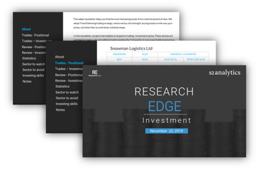 RESEARCH EDGE – INVESTMENT LETTER- FOR LONG TERM INVESTMENT | free Classified | Free Advertising | free classified ads