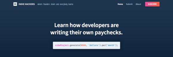 Stripe buys entrepreneur knowledge website Indie Hackers