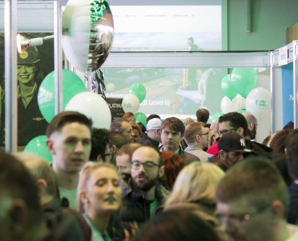 Careers and education options at October's Jobs Expo Dublin