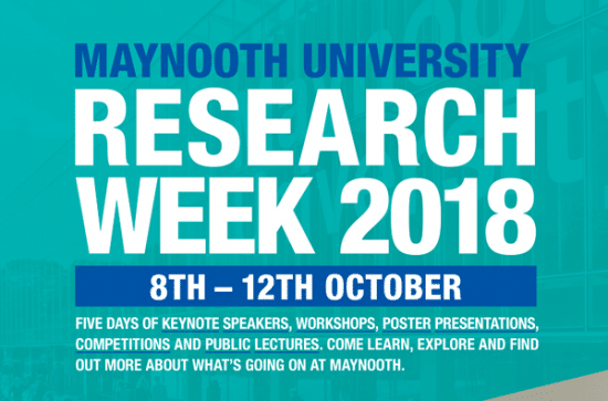 Research Week at Maynooth University Kicks Off Today
