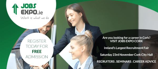 Cork-Based Careers Fair Taking Place 23rd November