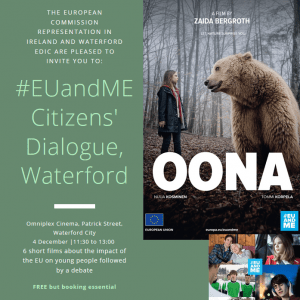 #EUandME Free Public Film Screening & Panel Discussion, Waterford