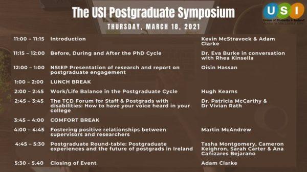 2021 USI Postgraduate Symposium