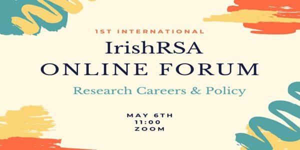 Irish Research Staff Association Online Forum