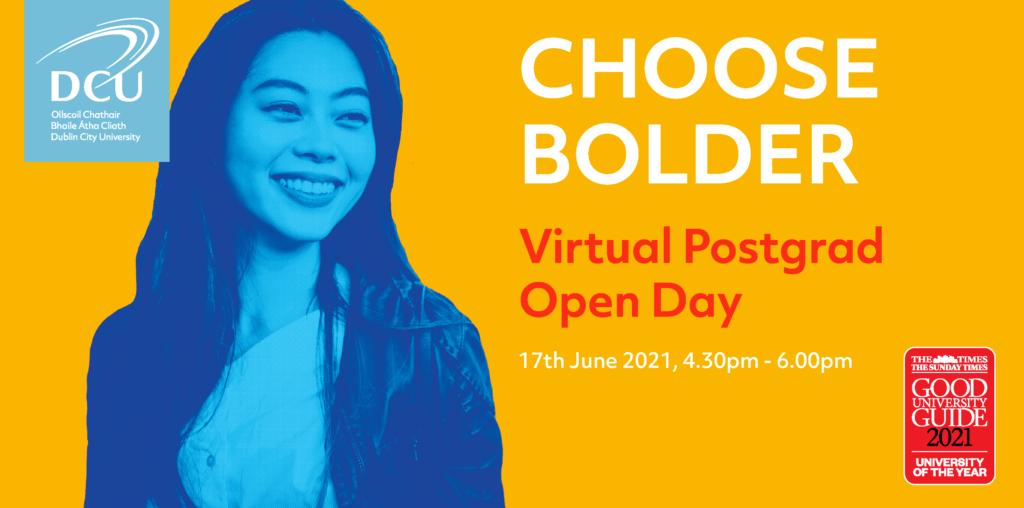 DCU Virtual Postgrad Open Day