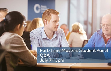 Part-time Masters Student Panel Q&A @ DCU Business School