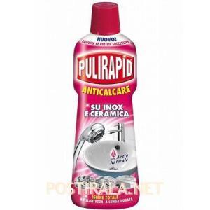 Универсальное чистящее средство с уксусом Pulirapid aceto, 750 ml
