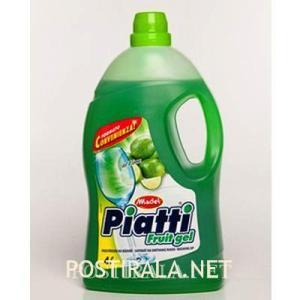 Средство для мытья посуды Madel piatti fruit gel lime, 4lt