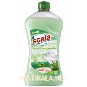 Средство для мытья посуды SCALA Detersivo per stoviglie a mano con aloe vera, 750 ml