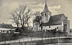 Ansichtskarte Köln-Rodenkirchen: Kapelle 1934