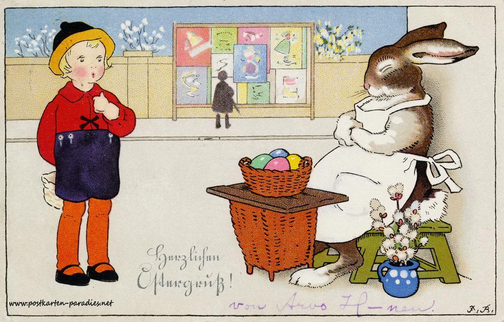 Osterkarten Aus Der Guten Alten Zeit