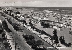 Alte Postkarten von Riccione