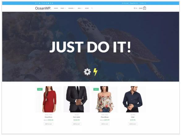 OceanWP WordPress.org