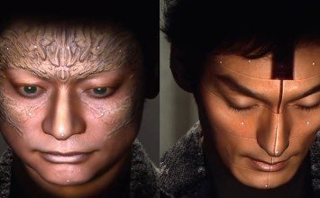 Εξώκοσμες μεταμορφώσεις με 3D face projecting