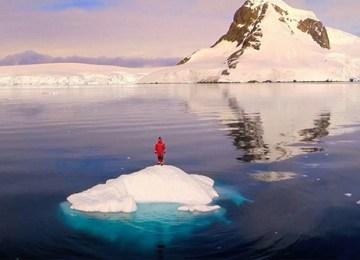 Η ονειρική Ανταρκτική από ψηλά