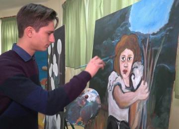 Μαθητές του Αγρινίου ζωγράφισαν τον πόνο των προσφύγων