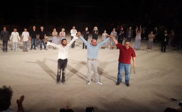 Σήκωσε σκόνη ο Τσέζαρις Γκραουζίνις με τους Επτά επί Θήβας στην Επίδαυρο