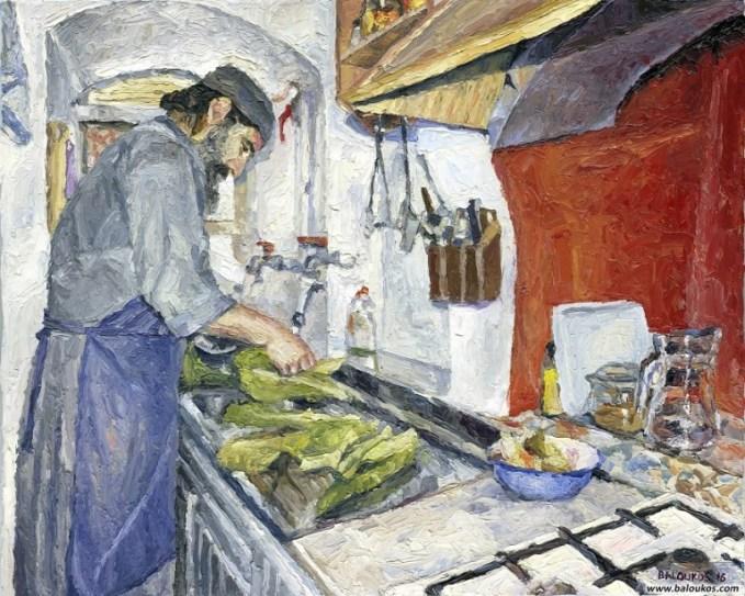 Ετοιμάζοντας το δείπνο