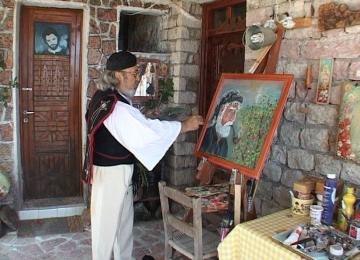 Λευτέρης Θεοδώρου: Ο Ευρυτάνας λαϊκός ζωγράφος με τα τσαρούχια