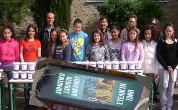 Μαθητές του Αγρινίου περιποιούνται ελιές και προσφέρουν λάδι σε κοινωφελή ιδρύματα
