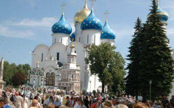 Το μοναστηριακό συγκρότημα του Ζαγκόρσκ