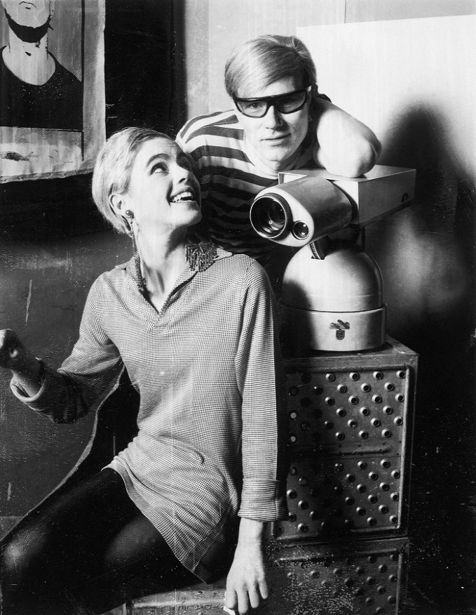 Edie Sedgwick and Andy Warhol on the set of Ciao! Manhattan (1972) directed by John Palmer, David Weisman USA - 1972 Supplied by WENN This is a PR photo. WENN does not claim any Copyright or License in the attached material. Fees charged by WENN are for WENN's services only, and do not, nor are they intended to, convey to the user any ownership of Copyright or License in the material. By publishing this material, the user expressly agrees to indemnify and to hold WENN harmless from any claims, demands, or causes of action arising out of or connected in any way with user's publication of the material.