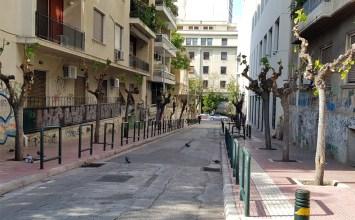 Οδός Αντωνιάδου, Οικονομικό Πανεπιστήμιο Αθηνών, πρεζεμπόριο, ουσιοεξάρτηση