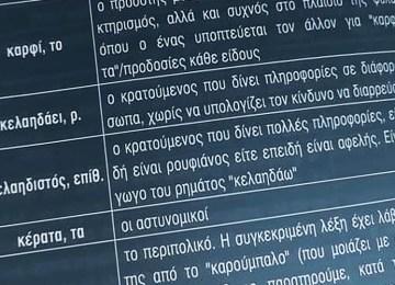 Φυλακή και γλώσσα: Γλωσσοπλασία –Γλωσσικοί κώδικες επικοινωνίας