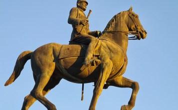 Ο βασιλεύς Κωνσταντίνος Α΄ στο Πεδίον του Άρεως