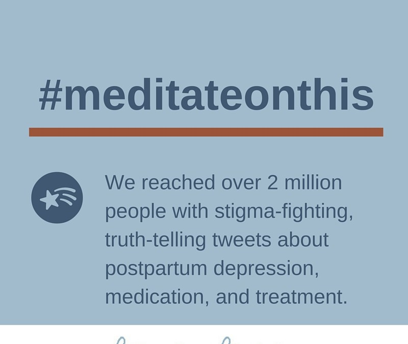 #meditateonthis Success Shows Moms with PPD Will Fight the Good Fight
