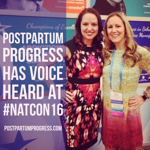 Postpartum Progress Has Voice Heard at #NatCon16 -postpartumprogress.com