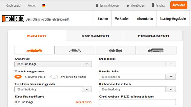 سوق السيارات في المانيا