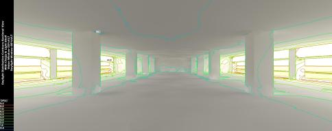 Daylight Analysis - Floor plate with Chajja
